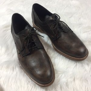 Mephisto Waino Men's Dark Brown Oxford Shoes